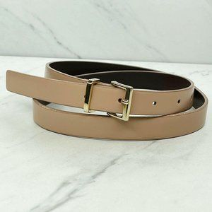 Ann Taylor Loft Tan Genuine Italian Leather Belt S